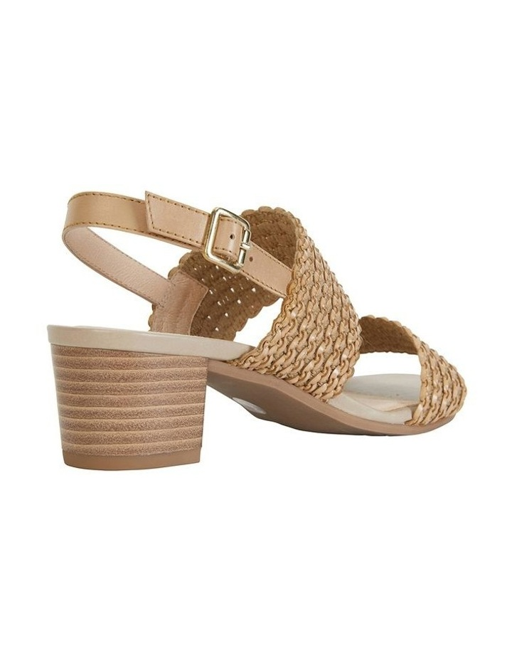 Vintage Neutral Weave Sandals image 4
