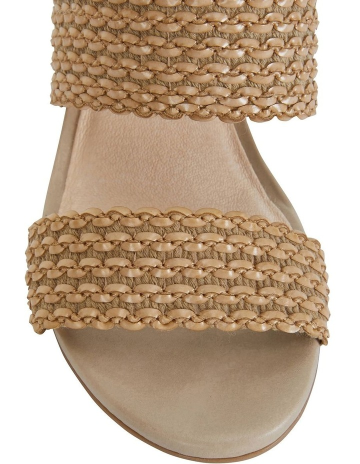 Vintage Neutral Weave Sandals image 7
