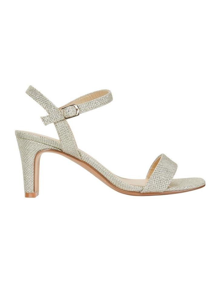 Unison Soft Gold Shimmer Sandals image 1
