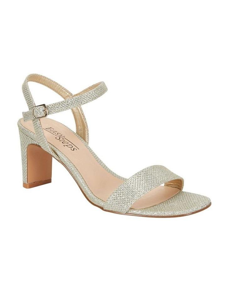 Unison Soft Gold Shimmer Sandals image 2