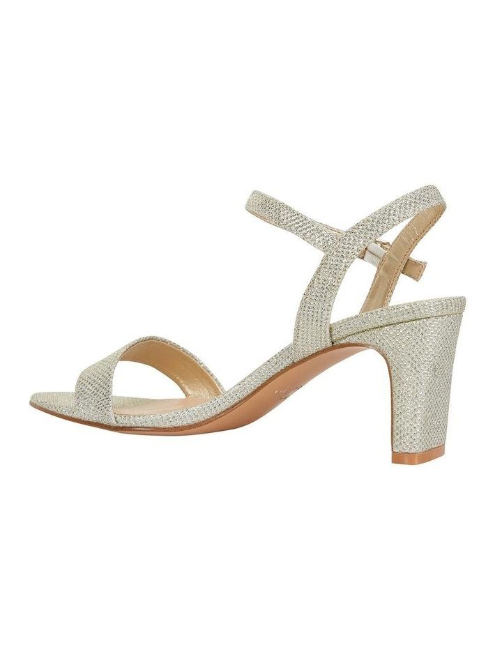 Unison Soft Gold Shimmer Sandals image 3