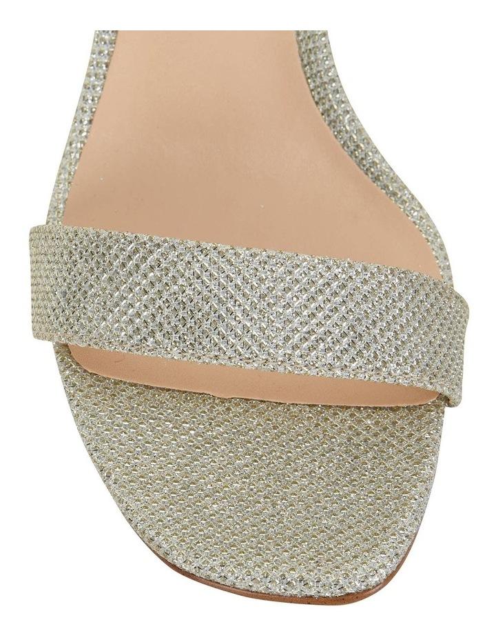 Unison Soft Gold Shimmer Sandals image 4