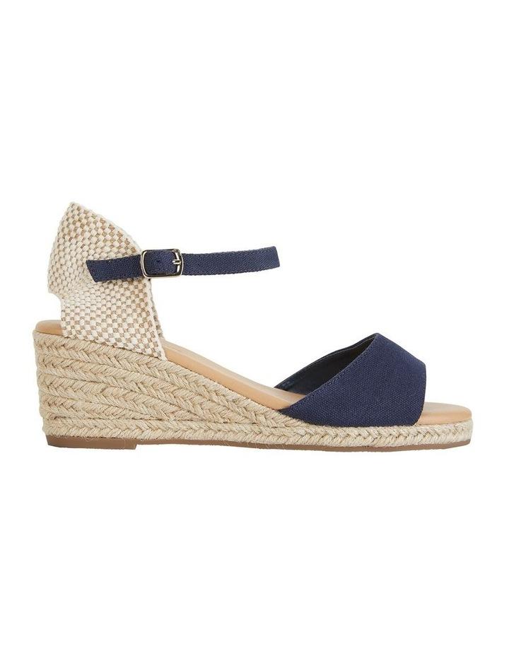 Safari Navy Fabric Sandals image 1