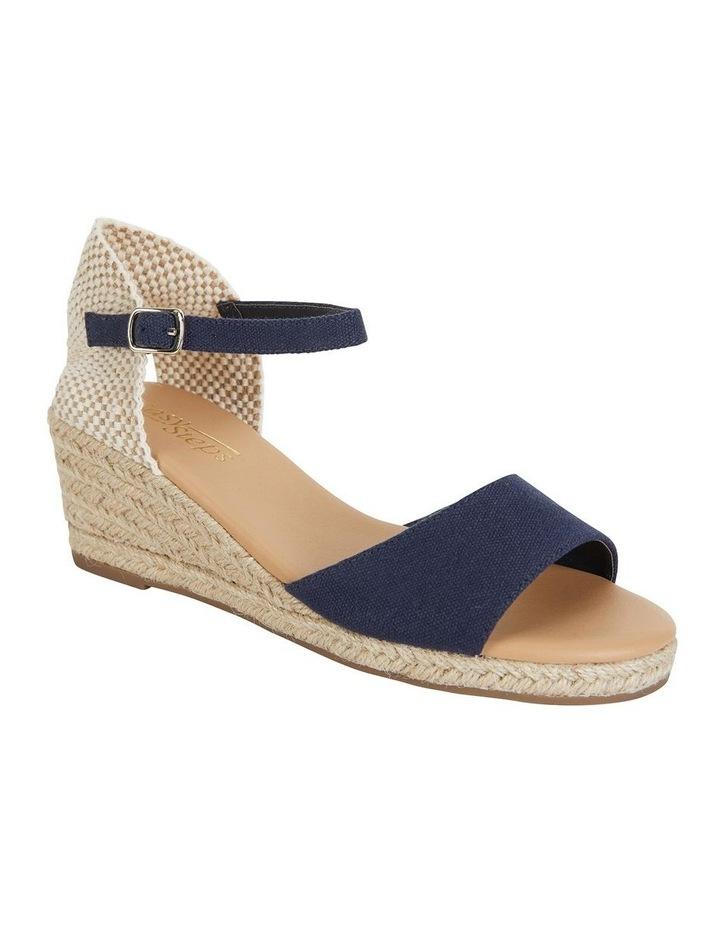 Safari Navy Fabric Sandals image 2