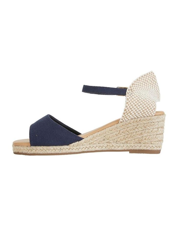 Safari Navy Fabric Sandals image 3
