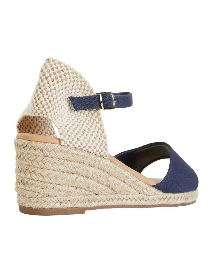 Safari Navy Fabric Sandals image 4