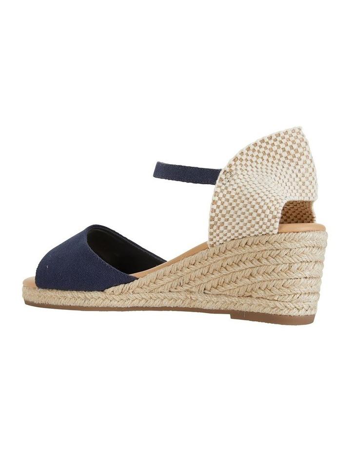 Safari Navy Fabric Sandals image 5
