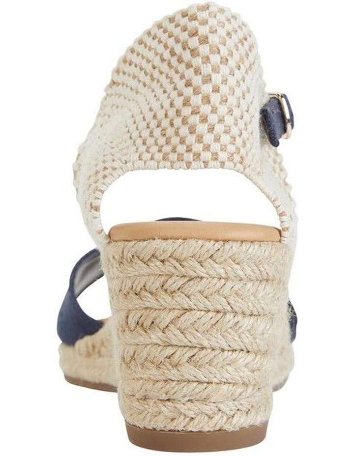 Safari Navy Fabric Sandals image 6