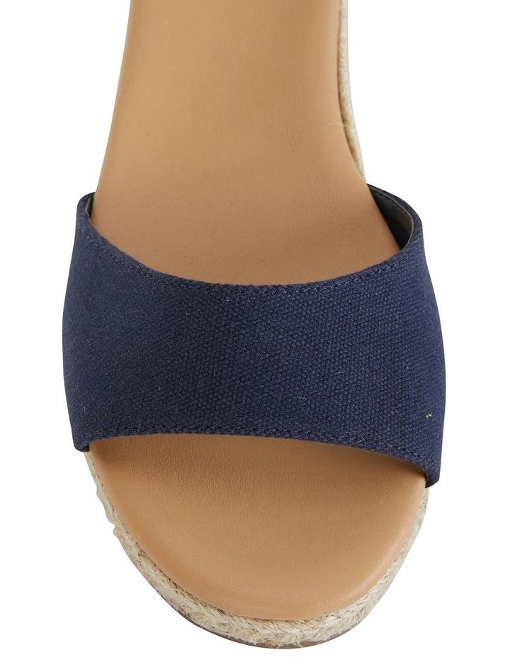 Safari Navy Fabric Sandals image 7
