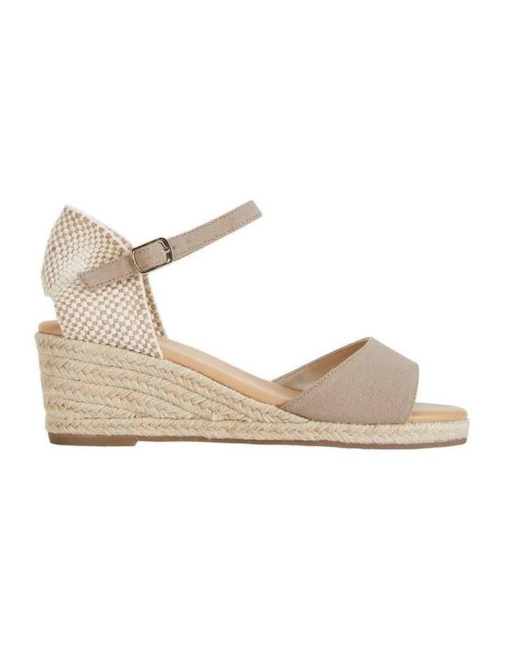 Safari Taupe Fabric Sandals image 1