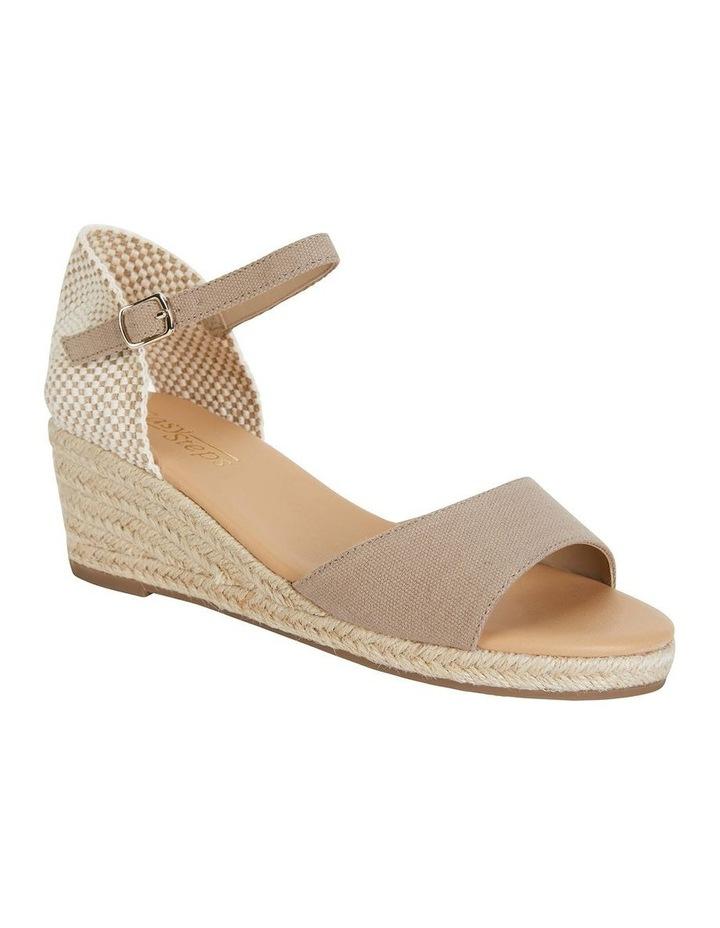 Safari Taupe Fabric Sandals image 2