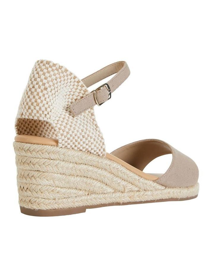 Safari Taupe Fabric Sandals image 4