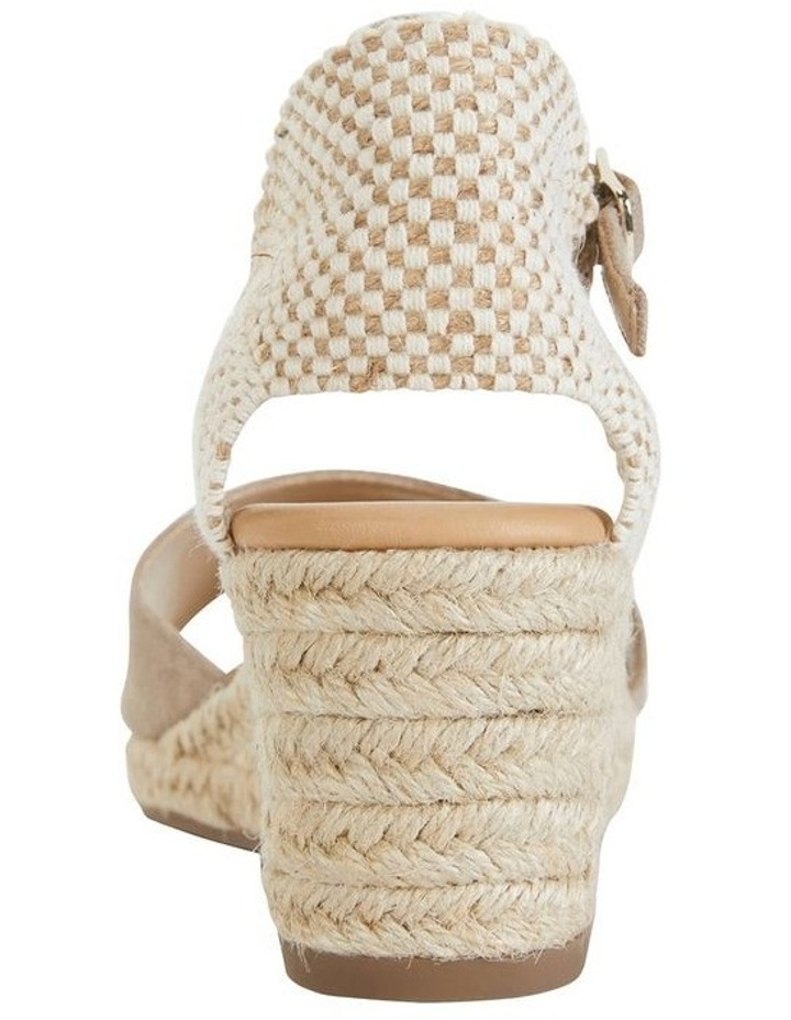 Safari Taupe Fabric Sandals image 6