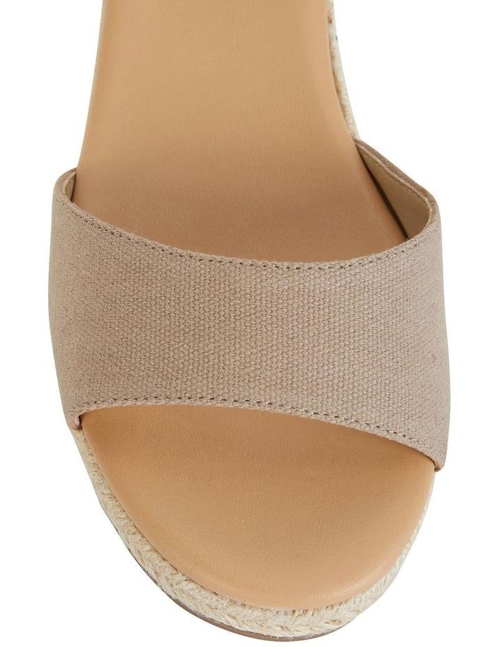 Safari Taupe Fabric Sandals image 7