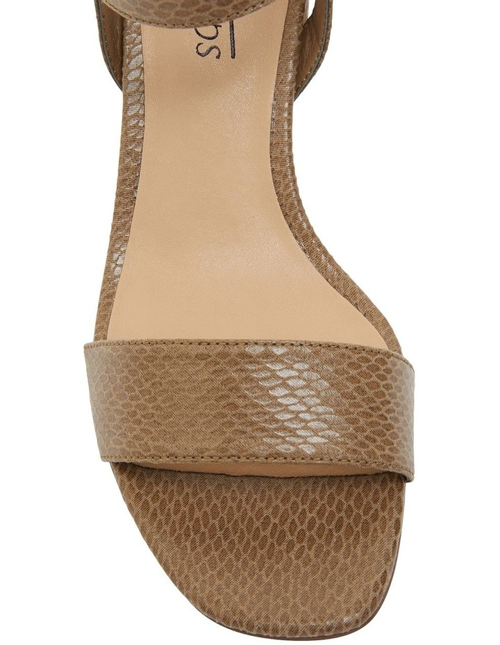 Uno Taupe Print Sandal image 4