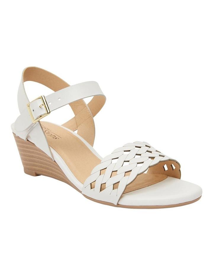 Callum White Glove Sandal image 2