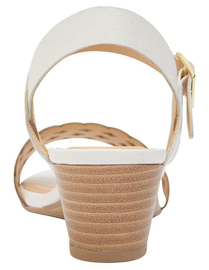 Callum White Glove Sandal image 6