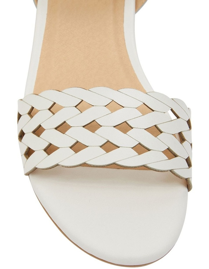 Callum White Glove Sandal image 7