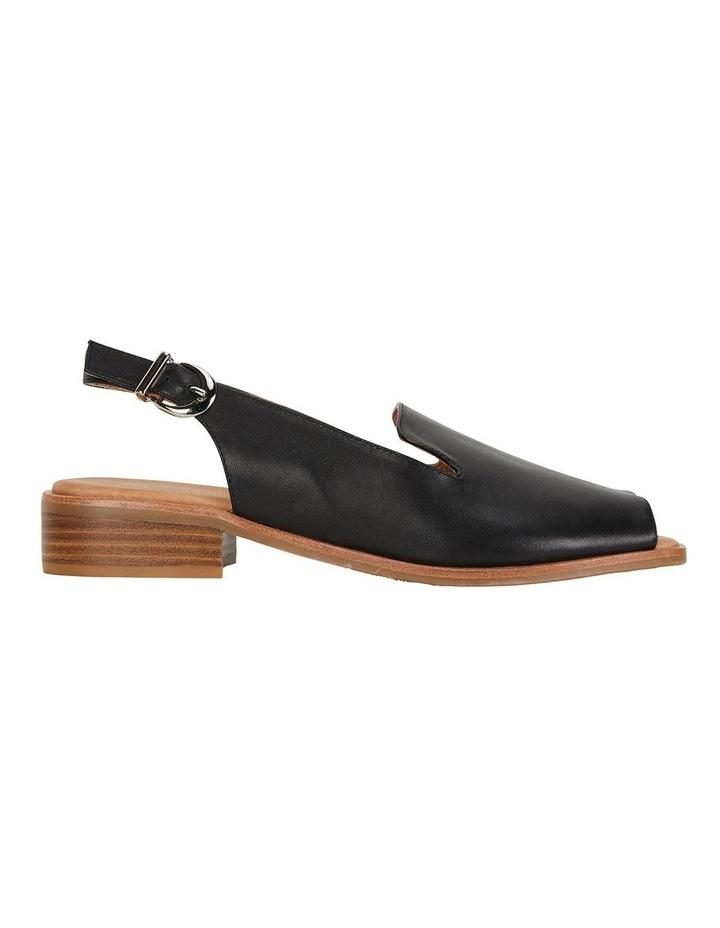 Delaney Black Glove Sandals image 1