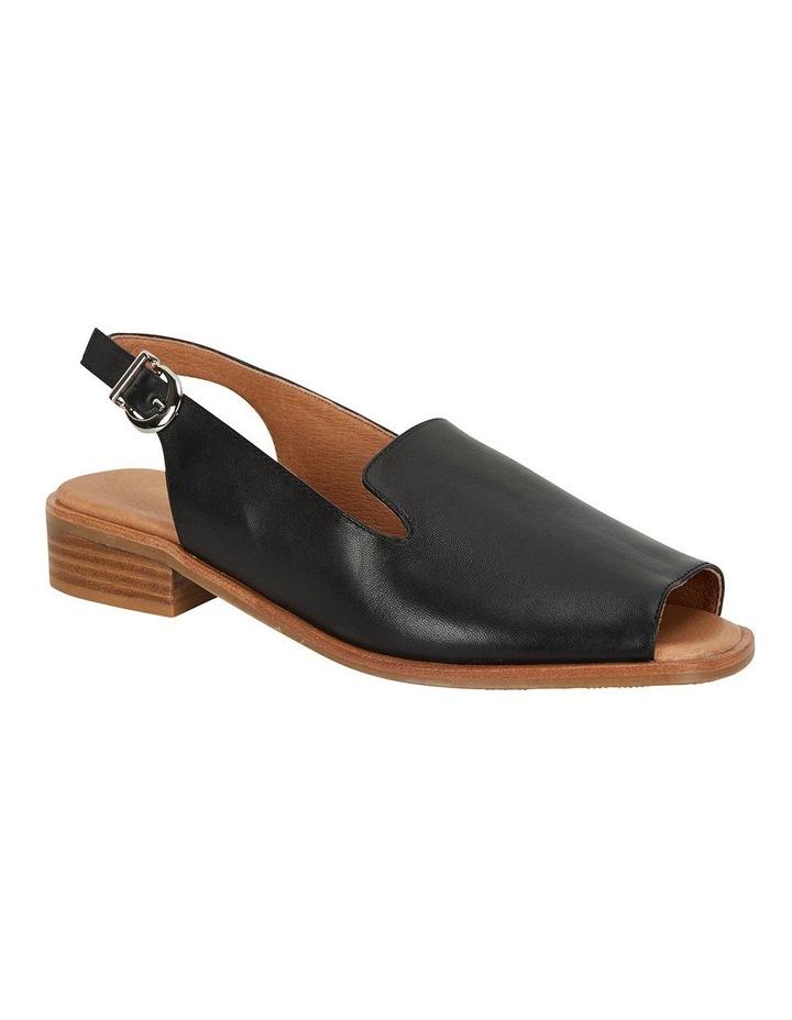 Delaney Black Glove Sandals image 2