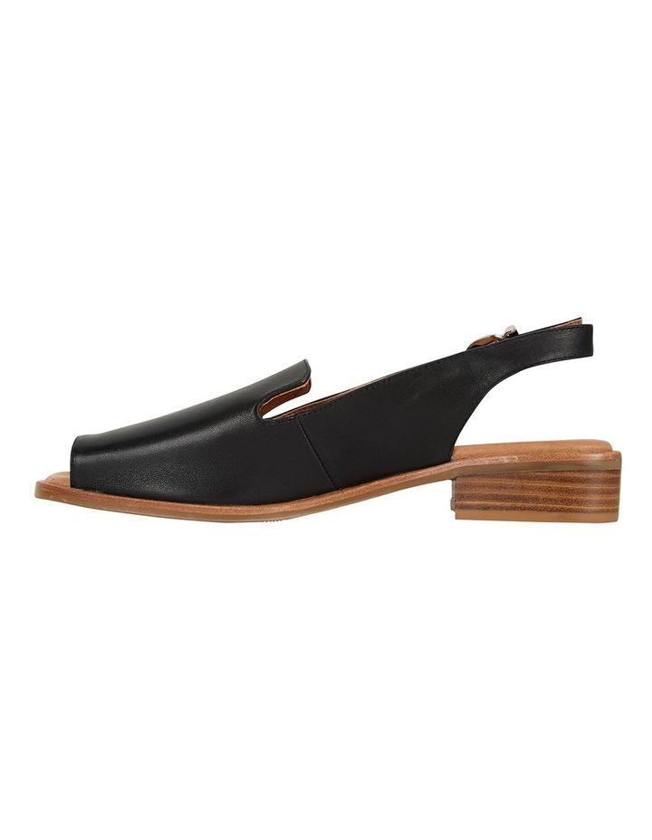 Delaney Black Glove Sandals image 3