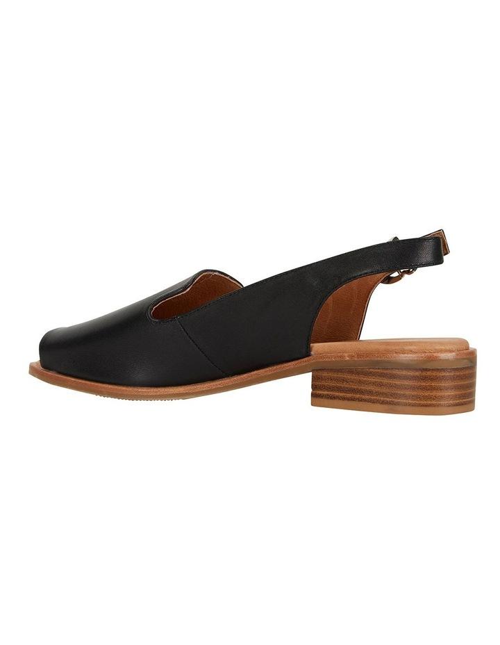 Delaney Black Glove Sandals image 5
