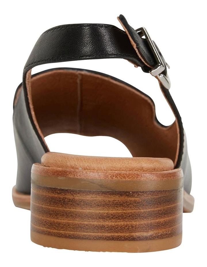 Delaney Black Glove Sandals image 6