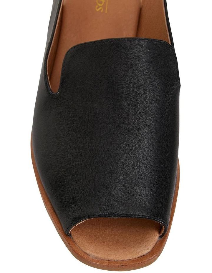 Delaney Black Glove Sandals image 7