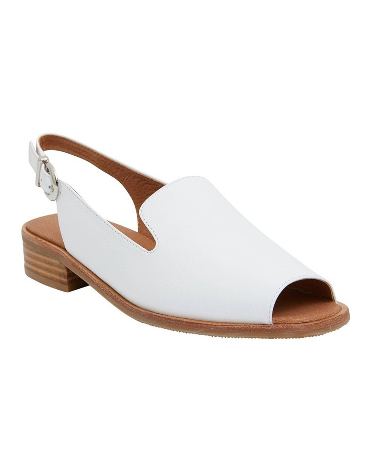 Delaney White Glove Sandals image 2