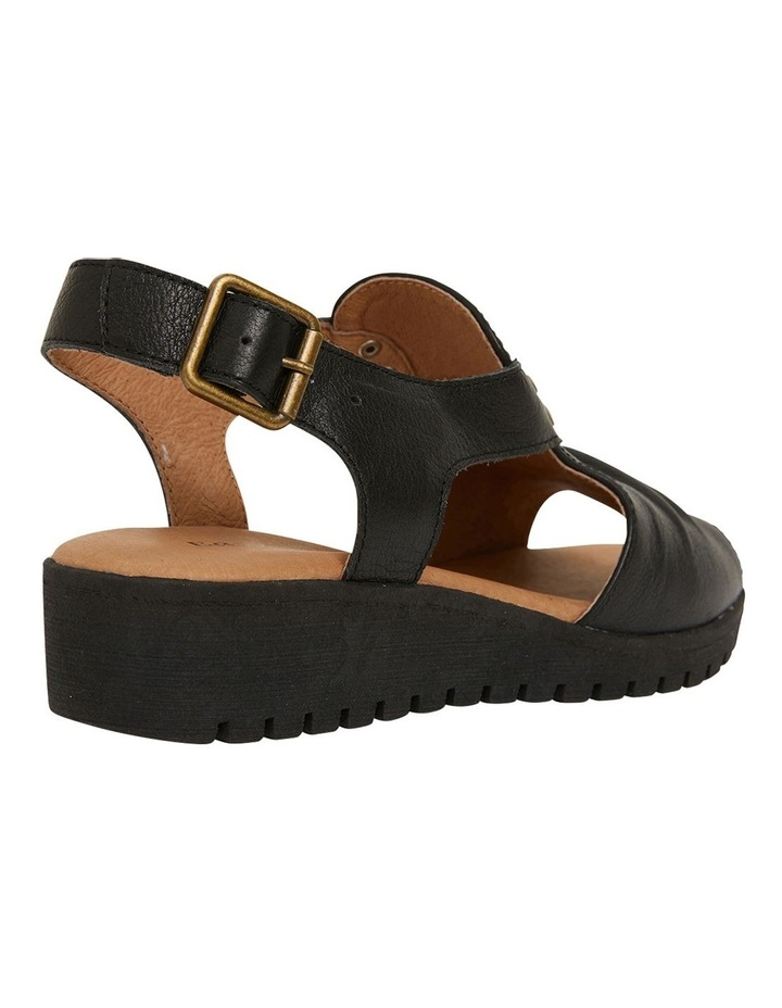 Gelato Black Glove Sandals image 4