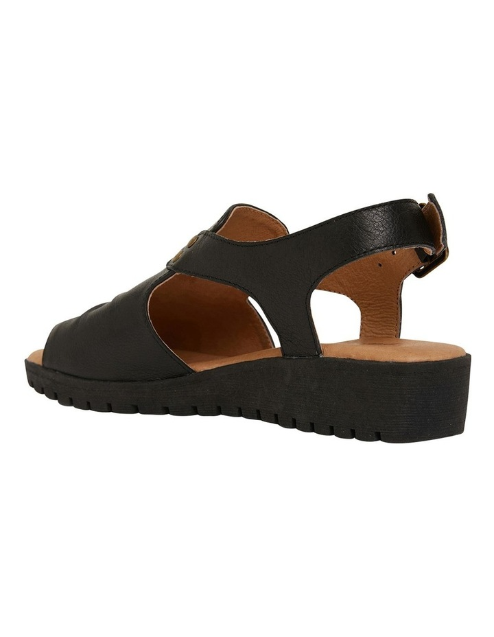 Gelato Black Glove Sandals image 6