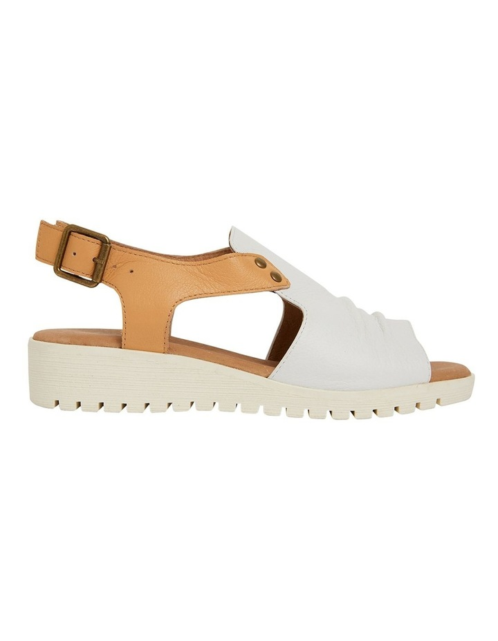 Gelato White/Tan Glove Sandals image 1