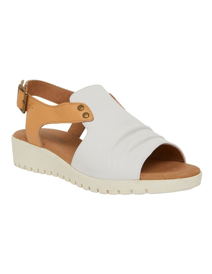 Gelato White/Tan Glove Sandals image 2