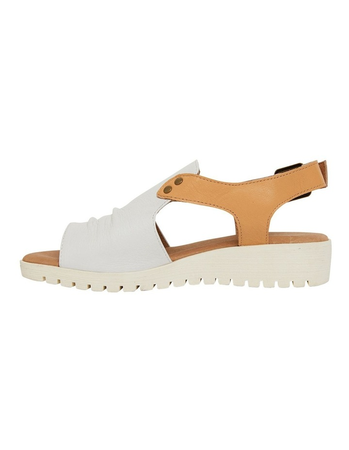 Gelato White/Tan Glove Sandals image 3