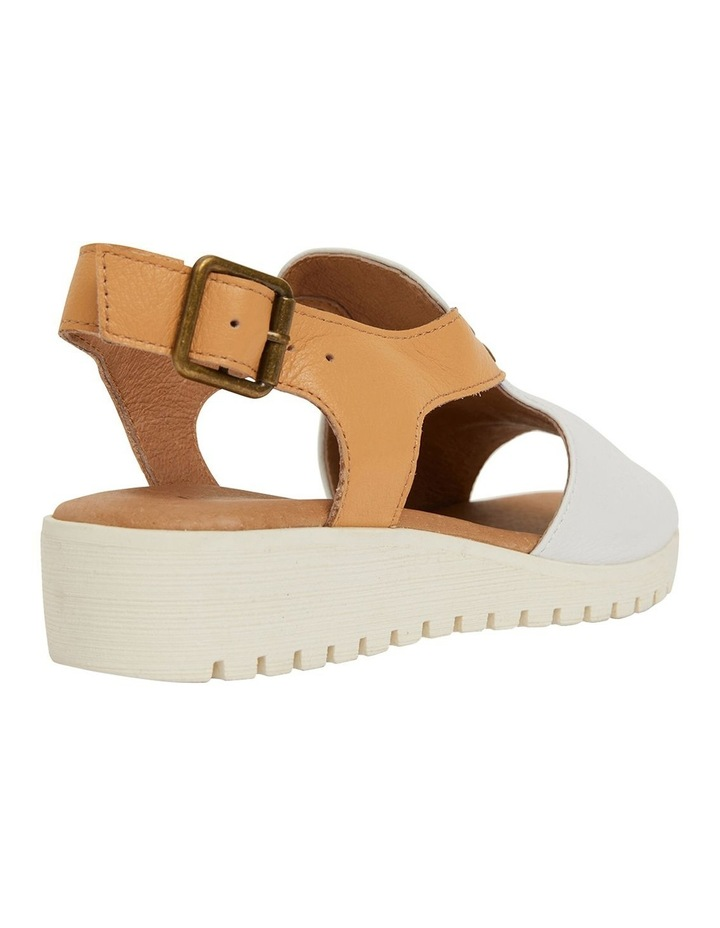 Gelato White/Tan Glove Sandals image 4
