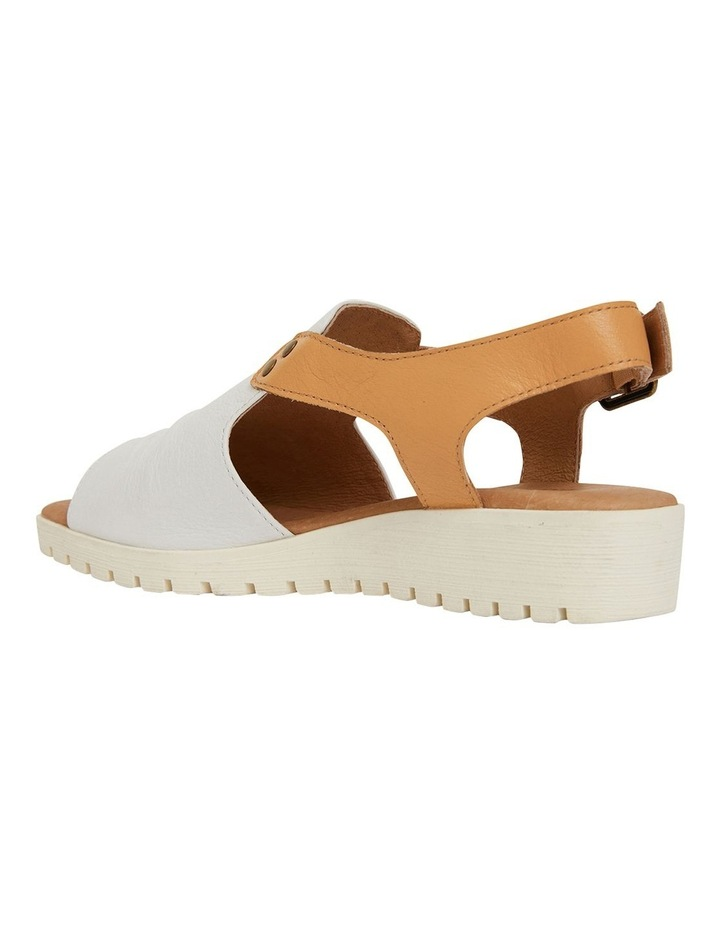 Gelato White/Tan Glove Sandals image 5