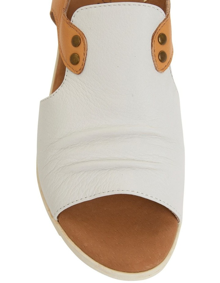 Gelato White/Tan Glove Sandals image 7