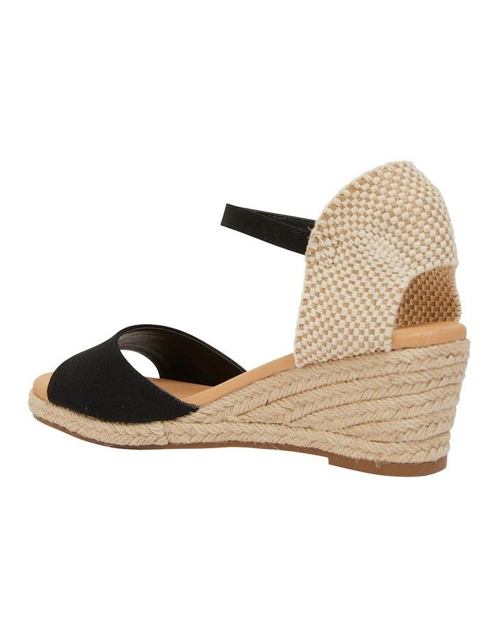 Scout Black Fabric Sandals image 4