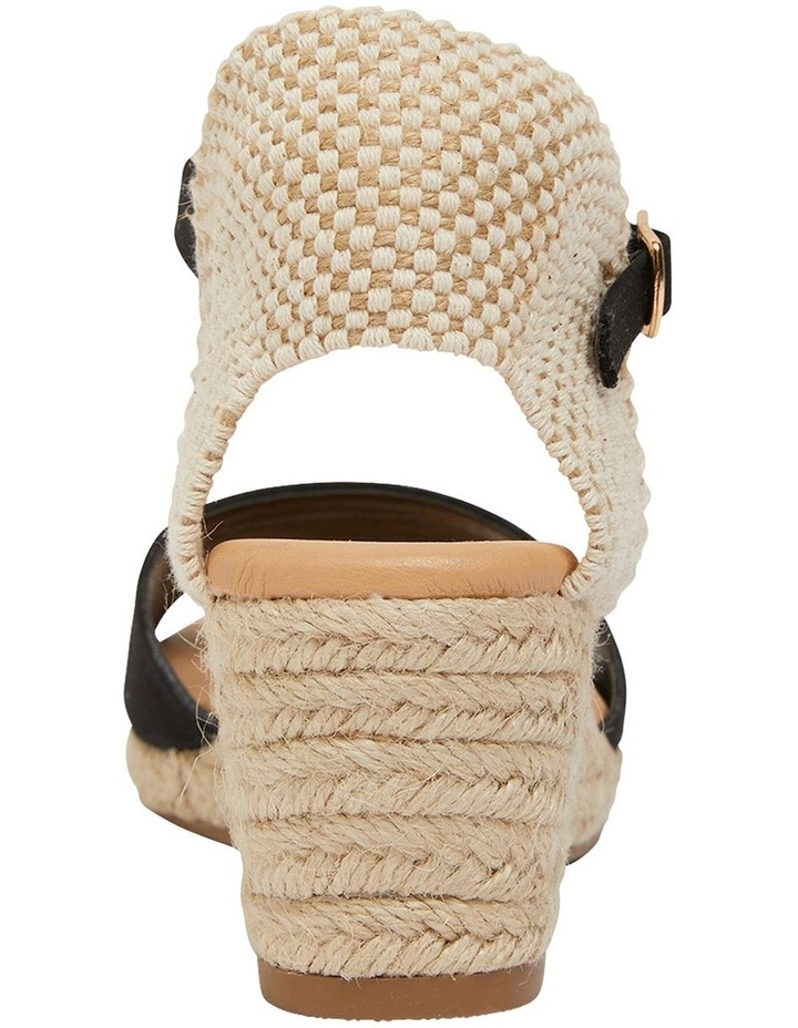 Scout Black Fabric Sandals image 5