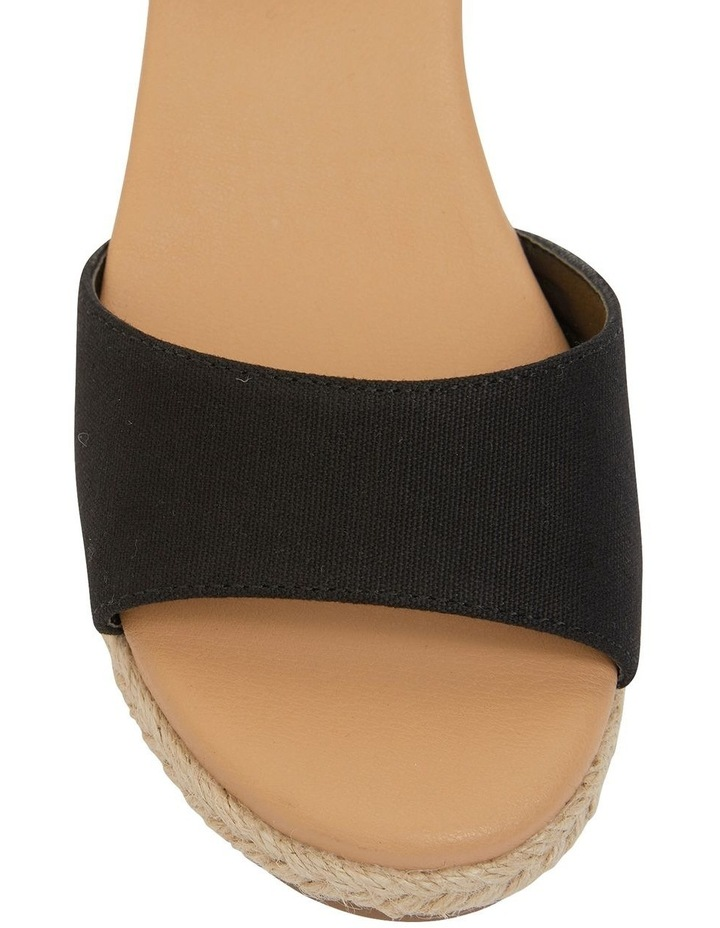 Scout Black Fabric Sandals image 6
