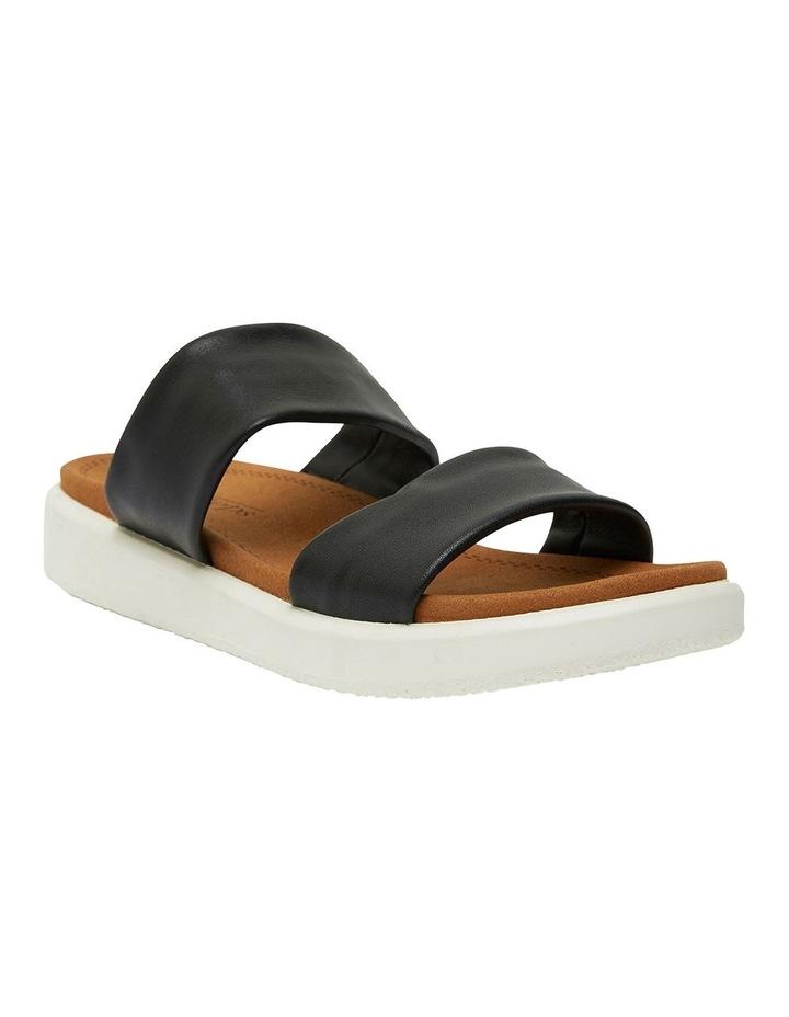 Fleet Black Glove Sandals image 2