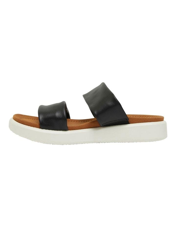 Fleet Black Glove Sandals image 3