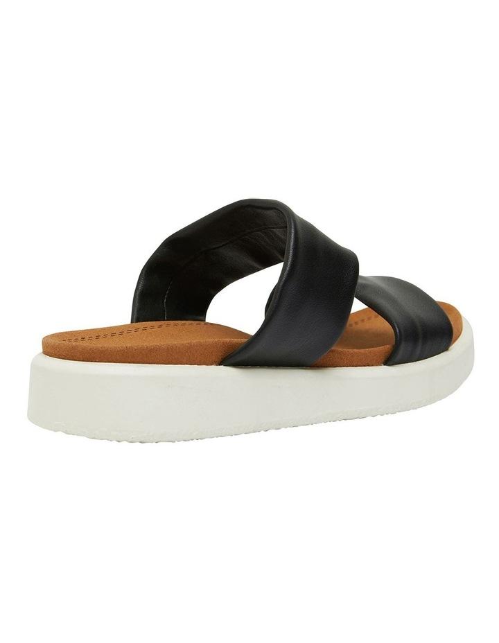 Fleet Black Glove Sandals image 4