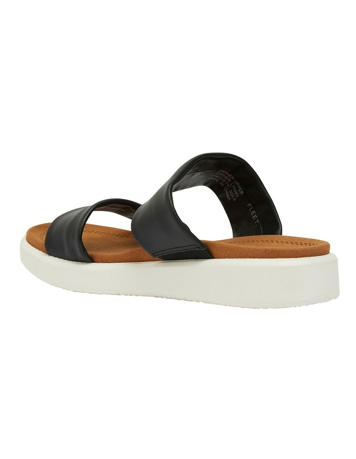 Fleet Black Glove Sandals image 5