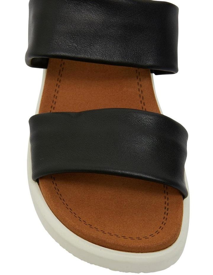 Fleet Black Glove Sandals image 6