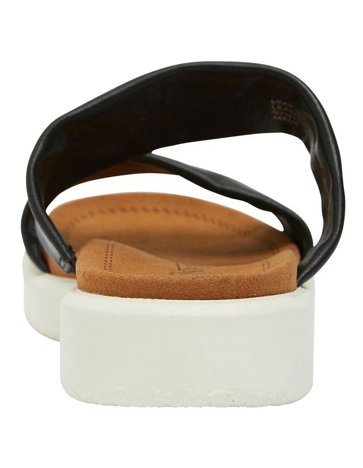 Fleet Black Glove Sandals image 7