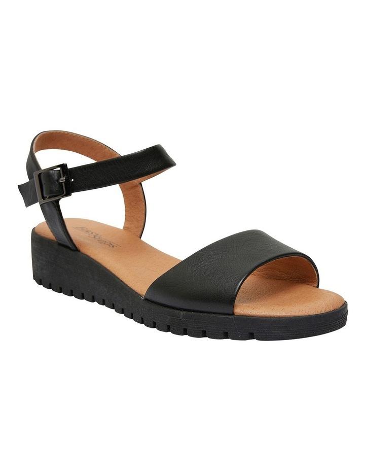 Georgie Black Glove Sandals image 2