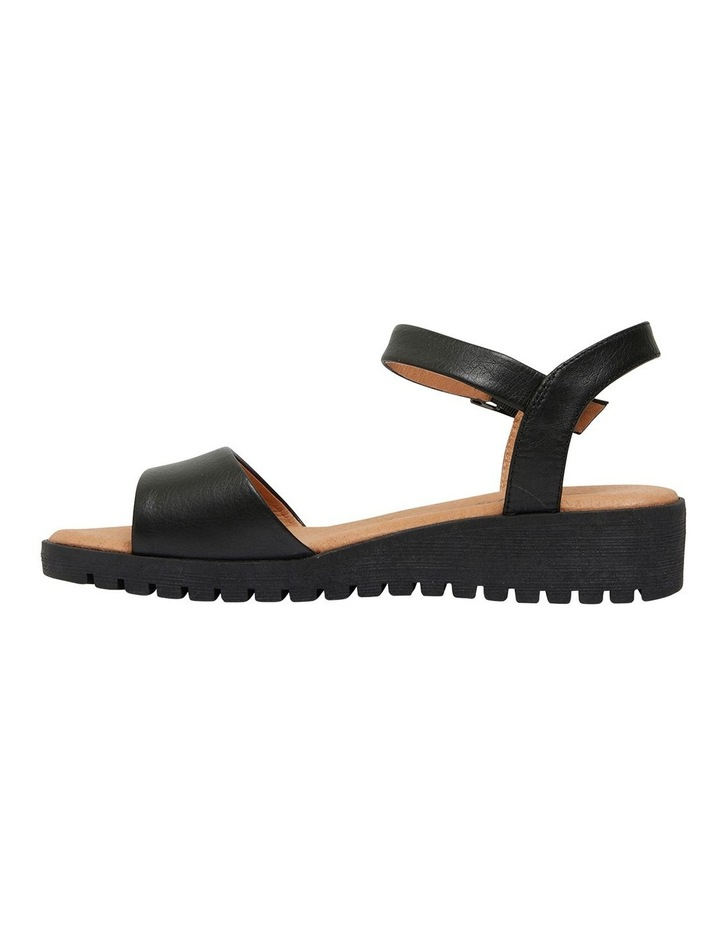 Georgie Black Glove Sandals image 3