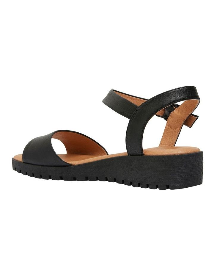 Georgie Black Glove Sandals image 6