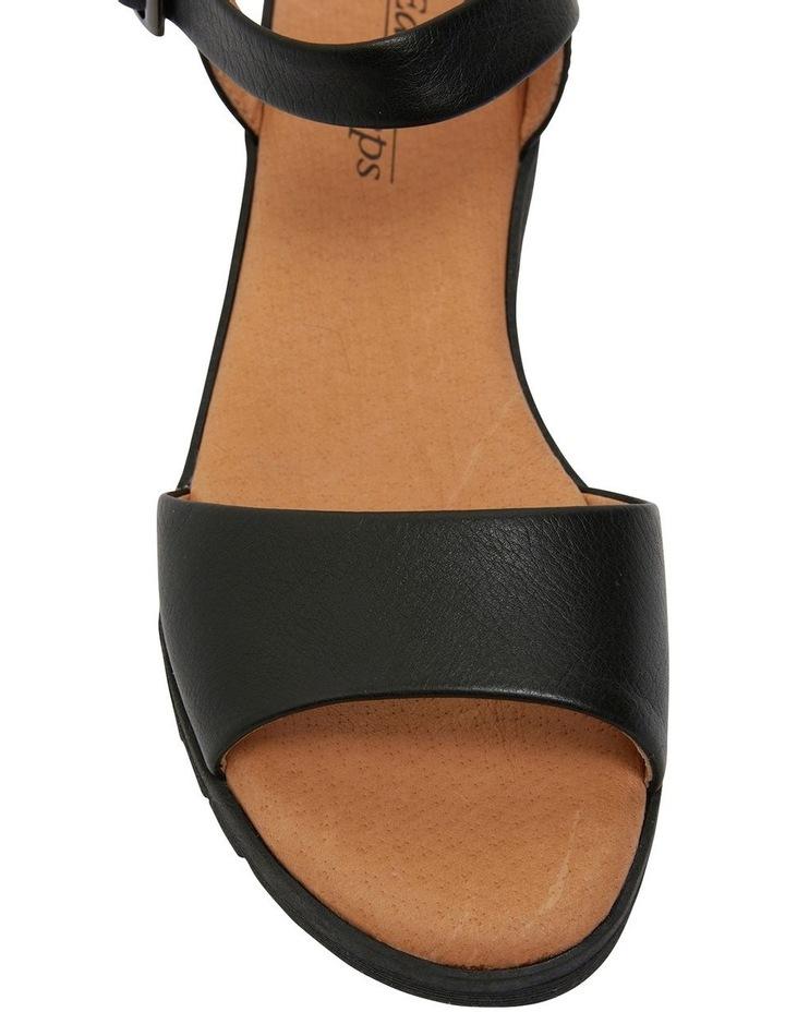 Georgie Black Glove Sandals image 7